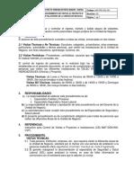 Procedimiento de Visitas PDF