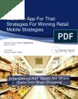 Strategies for Winning Retail Mobile Strategies