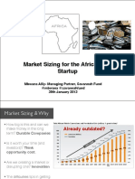 Sizing up the Market for African Startups