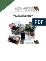 High Road Progress Report 2008-2009