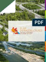 Plan Infrastructures 2016-2019