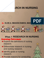 Chapter 1 nursing research