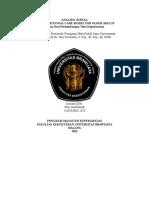 Analisis jurnal transasional care model for older