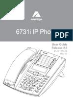 Aastra 6731i User Guide