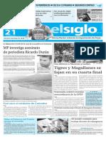 Edición Impresa El Siglo 21-01-2016