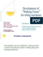 Walking Frame With Sitting Assistance