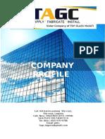 Tagc Company Profile