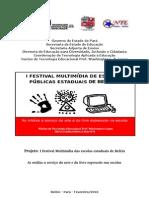 projeto festival multimídia