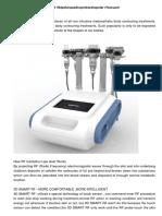 40k+rf Cavitation Ultrasound Rf+bipolar+quadrupole+sextupolar Rf+vacuum Rf Slim