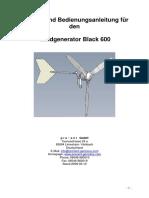 WG Bedienungsanleitung Black 600 11