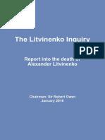 Litvinenko Inquiry Report