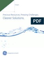 GE Water Brochure