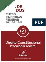 Federais Guia de Estudos Direito Constitucional Procurador Federal