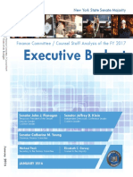 Staff Analysis Fy17 Executive Budget-whitebook 2016