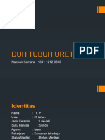 URETRITIS (Duh Tubuh Urethra)
