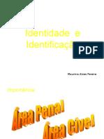 Resumo de Identidade e Identificação