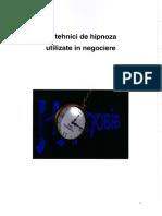 Zece Tehnici de Hipnoza in Negociere