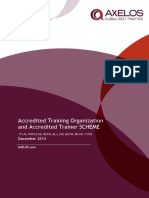 Accredited Training Organization and Accredited Trainer SCHEME