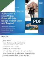 Cisco Success Story in ALBtelecom n EagleMobile Yavuz Kalfa ALBtelecom n