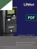 Lifeloc FC10Plus User Manual - Spanish