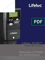Lifeloc FC10Plus User Manual - Spanish