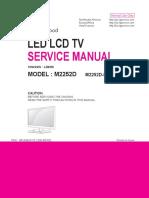 TV LED M2252D-PS LG