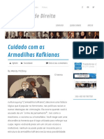 Cuidado Com as Armadilhas Kafkianas – Tradutores de Direita