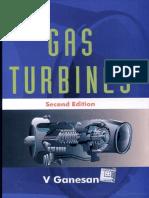 Gas Turbines by v Ganesnan