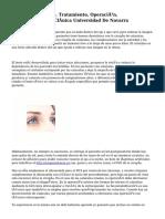 Cataratas Oculares. Tratamiento, Operación, Postoporetario… Clínica Universidad De Navarra