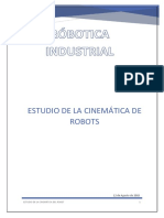Estudio de La Cinemática Del Robot