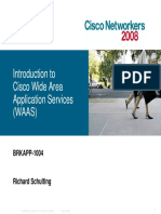 BRKAPP-1004_Introduction to Cisco Wide Area Application Services (WAAS)