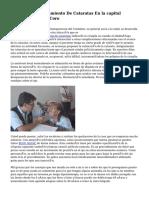 Operación Y Tratamiento De Cataratas En la capital española Clinica Coro