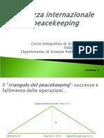 Sicurezza Internazionale e Peacekeeping, di Fabio Sozzi