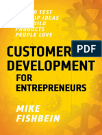Customer Development for Entrep - Mike Fishbein