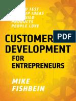 Customer Development for Entrep - Mike Fishbein