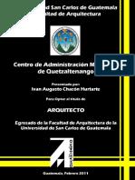 Centro de administración Municipal Quetzaltenengo