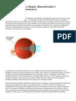 Cirugía Láser Para Miopía, Hipermetropía Y Astigmatismo. Laprovincia.es