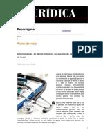 A Humanização Do Direito Tributário Na Questão Da Saúde Pública Do Brasil