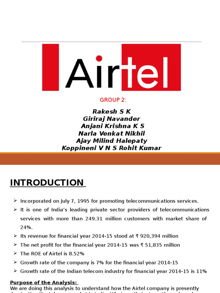 airtel tanzania swot analysis Strength, weaknesses, opportunities, threats for over 40,000+ companies and industries find free swot analysis for airtel kenya and read swot analysis for over 40,000+ companies and industries.