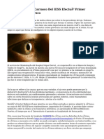 Centro de salud J. Carrasco Del IESS Efectuó Primer Trasplante De Córnea