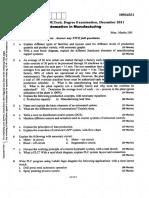 mtech question paperDec 2011-10