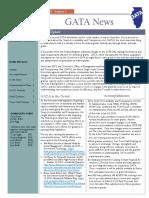 GATA Newsletter Fall 2015 (1)