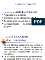 SRC Analisis Discriminante