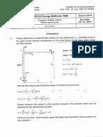 Assignment #2 Energy Methods
