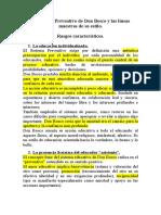 Sistema Preventivo de Don Bosco 2011 El Sistema Educativo de Don Bosco y las líneas maestras de su estilo
