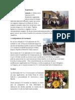 Actividades Culturales de Guatemala