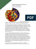 Rauber, Isabel - El Buen Vivir. Una Concepción Integral Del Desarrollo, La Democracia, Los Derechos