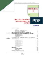 Curs Managementul calitatii - Modul 1 si 2