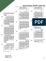 UF Academic Calendar 2015-2016