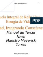 Manual 3er Nivel Reiki Usui Maverick Torres